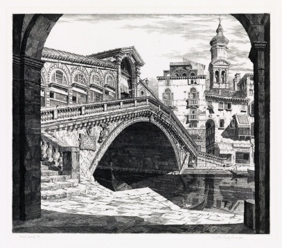 John Taylor Arms Shadows of Venice 1930 ed140 sold for $938