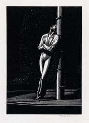Kent Man at Mast wood engraving sold for $5500