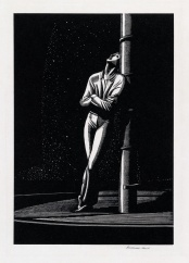 Kent Man at Mast wood engraving sold for $5500