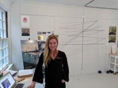 Stephanie Benenson, artist studio, discussing 2017 Harbor Lights_20171122_091513