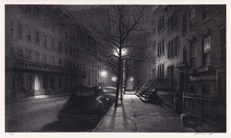 Stow Wengenroth The quiet hour lithograph sold for $12500