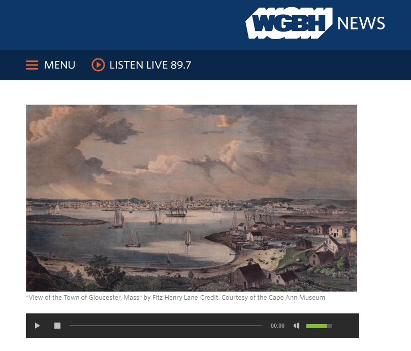 WGBH Morning Edition high lights  Cape Ann Museum new Fitz henry Lane exhibition.jpg