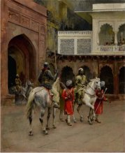 x Weeks, Edwin Lord Indian Prince Palace of Agra oc est 200 to 300,000