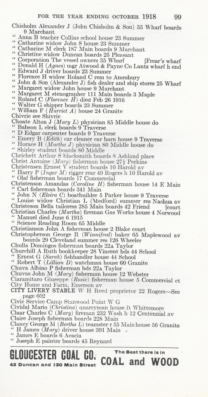 1917 Gloucester City Directory C0009