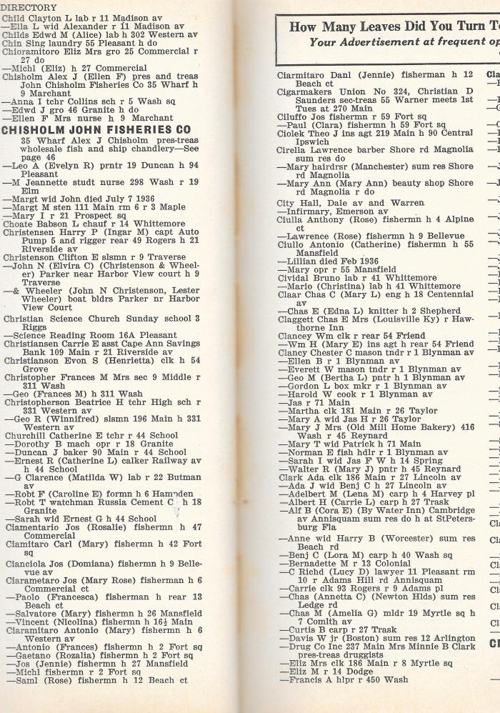 1937 Gloucester City Directory C0016