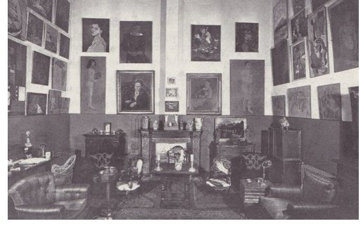 Gertrude Stein and Alice Toklas collection at home