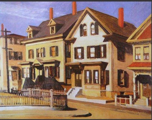 Glou Street Edward Hopper