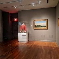 Installation View FITZ HENRY LANE painting Sawyer Homestead former Sawyer Free Public Library collection now Cape Ann Museum ©C Ryan IMG_125450