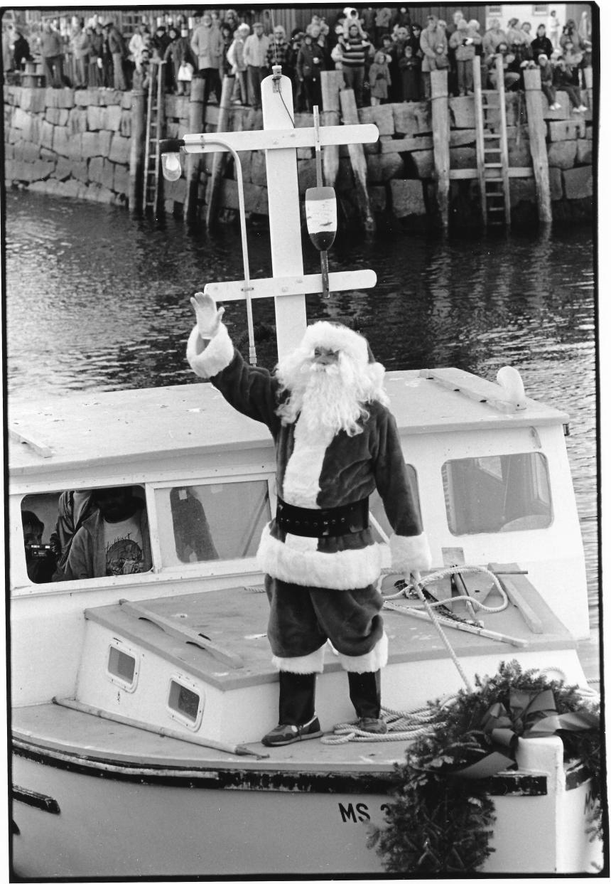 Rockport Santa by Fred Bodin prob 1970s