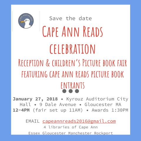 SAVE THE DATE Cape Ann Reads celebration reception Jan 27 2018 (3)