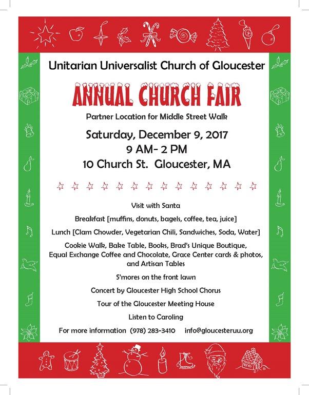 uu church fair poster 2017
