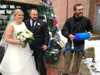 Wedding Bells Lobster trap tree copyright Kim Smith -3