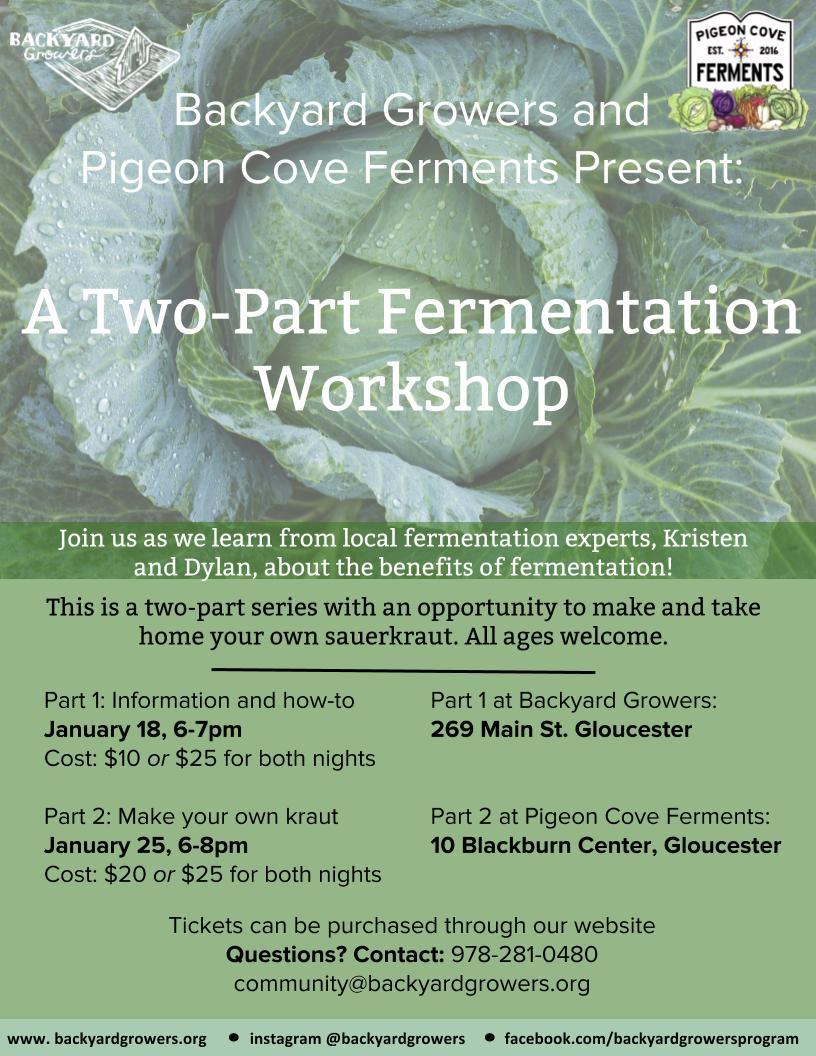 2018 Fermentation Workshop