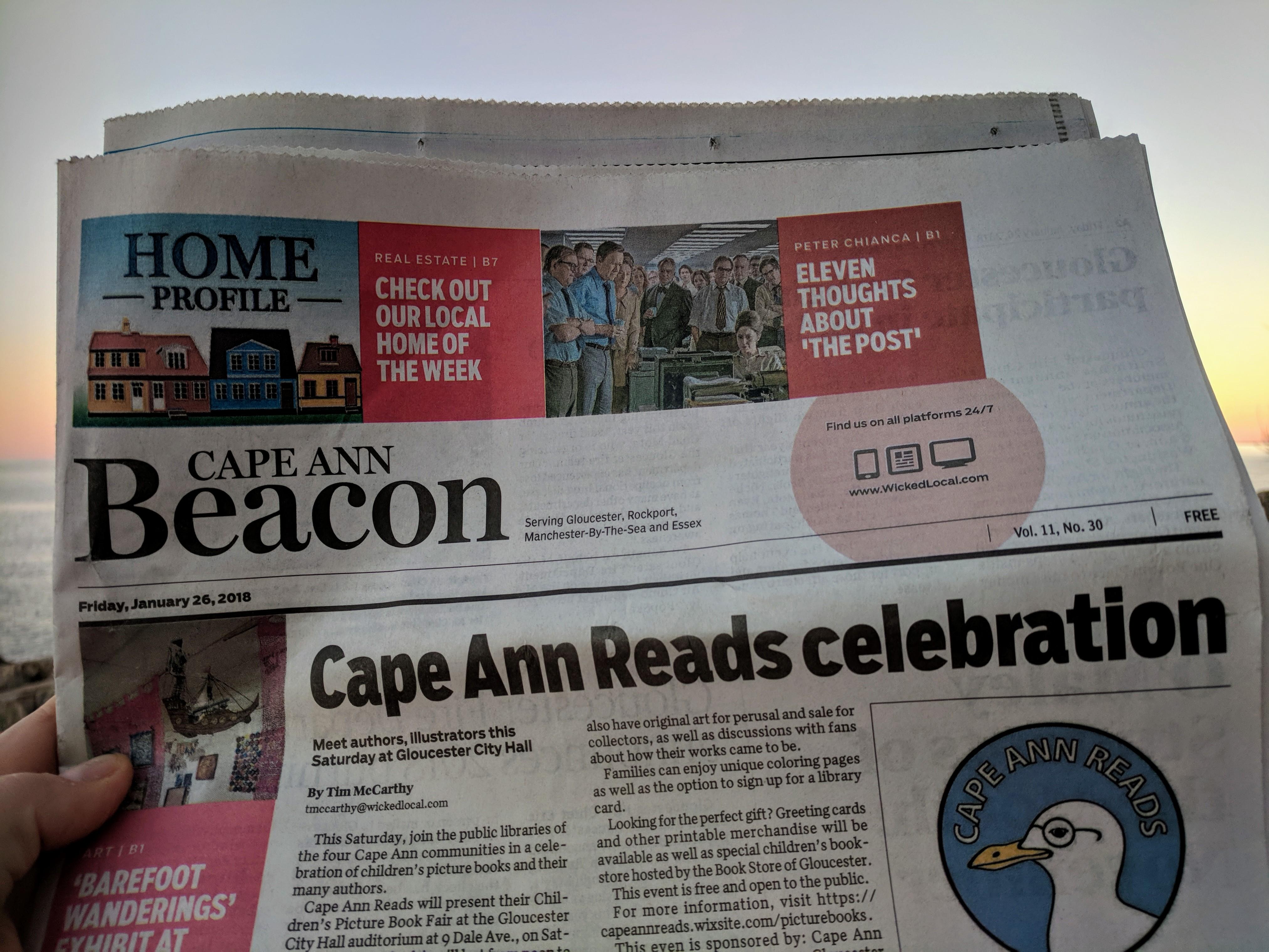 CAPE ANN BEACON Jan 26 2018 CAPE ANN READS _20180126_164102