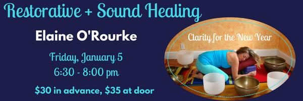 Email header Restorative + Sound Healing