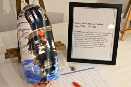 LOBSTER TRAP TREE BUOY AUCTION TENTH ANNUAL GLOUCESTER MA COPYRIGHT KIM SMITH14