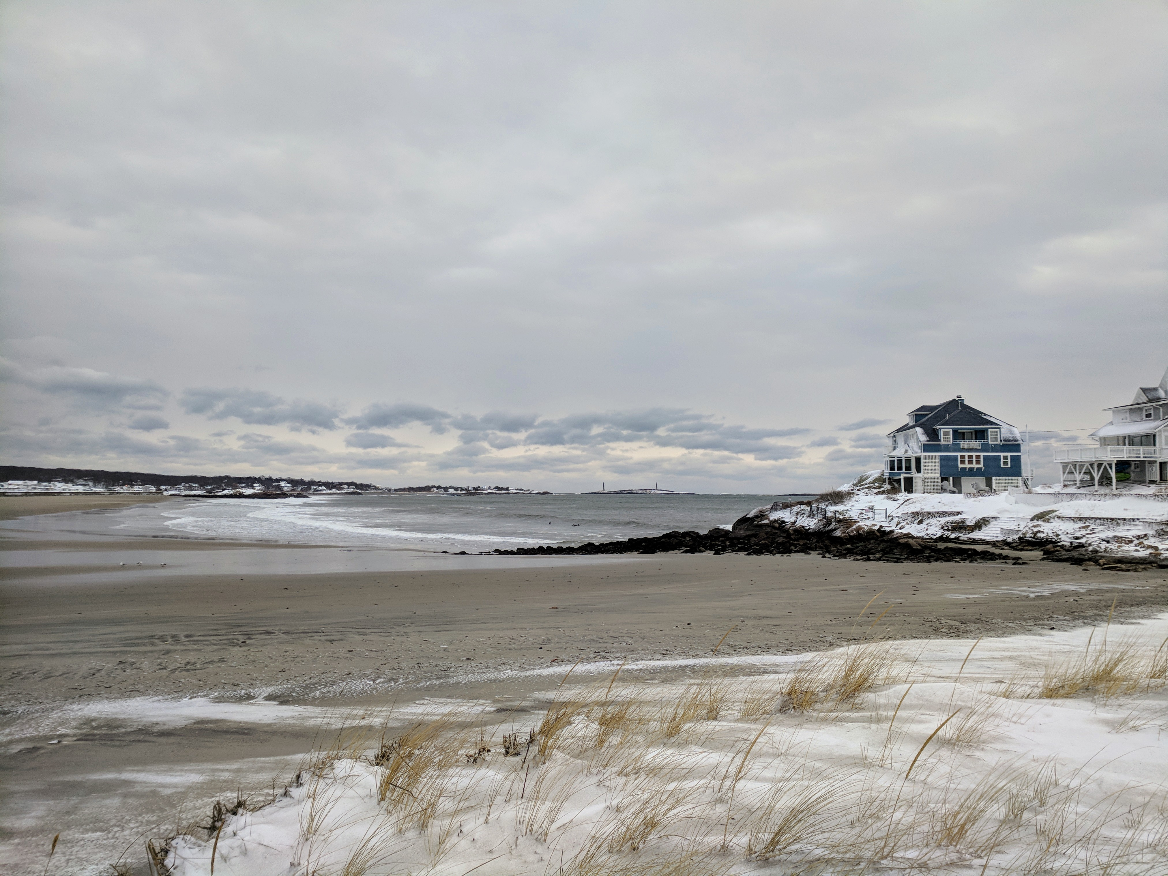 Long Beach Gloucester MA side morning after blizzard IMG_20180105_07 © c ryan