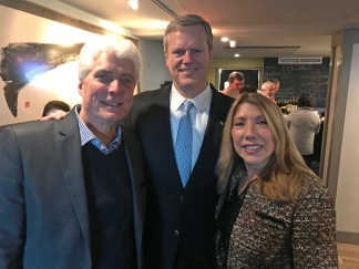 Mayor Sefatia Inauguration Celebration Governor Charlie Baker Gibbons Tonno Gloucester MA copyright Kim Smith