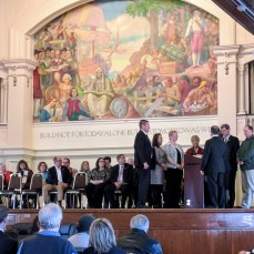 NEW COUNCILORS SWORN IN MAYOR ROMEO THEKEN inauguration jan 1 2018 IMG_20180101_140128