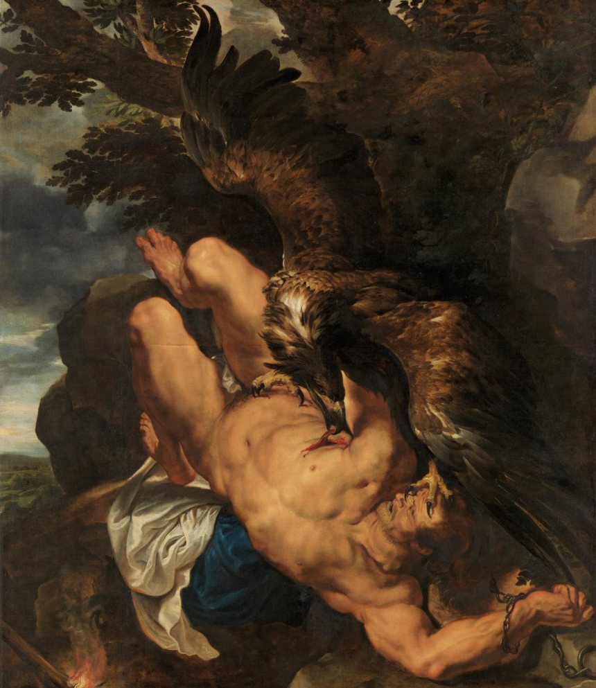Phil Mus Art Rubens Prometheus W1950-3-1