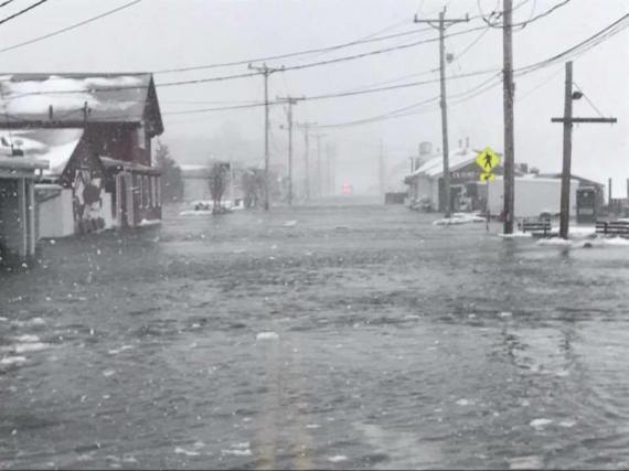 DEVASTATING FLOODING WOODMAN'S ESSEX, DOWNTOWN ROCKPORT ...