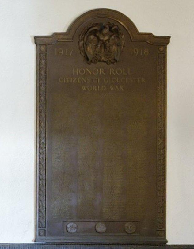 ©C Ryan bronze plaque city hall 2