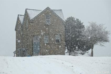 Fitz Henry Lane Gloucester MA Snowy Day copyright Kim Smith 18-48-53
