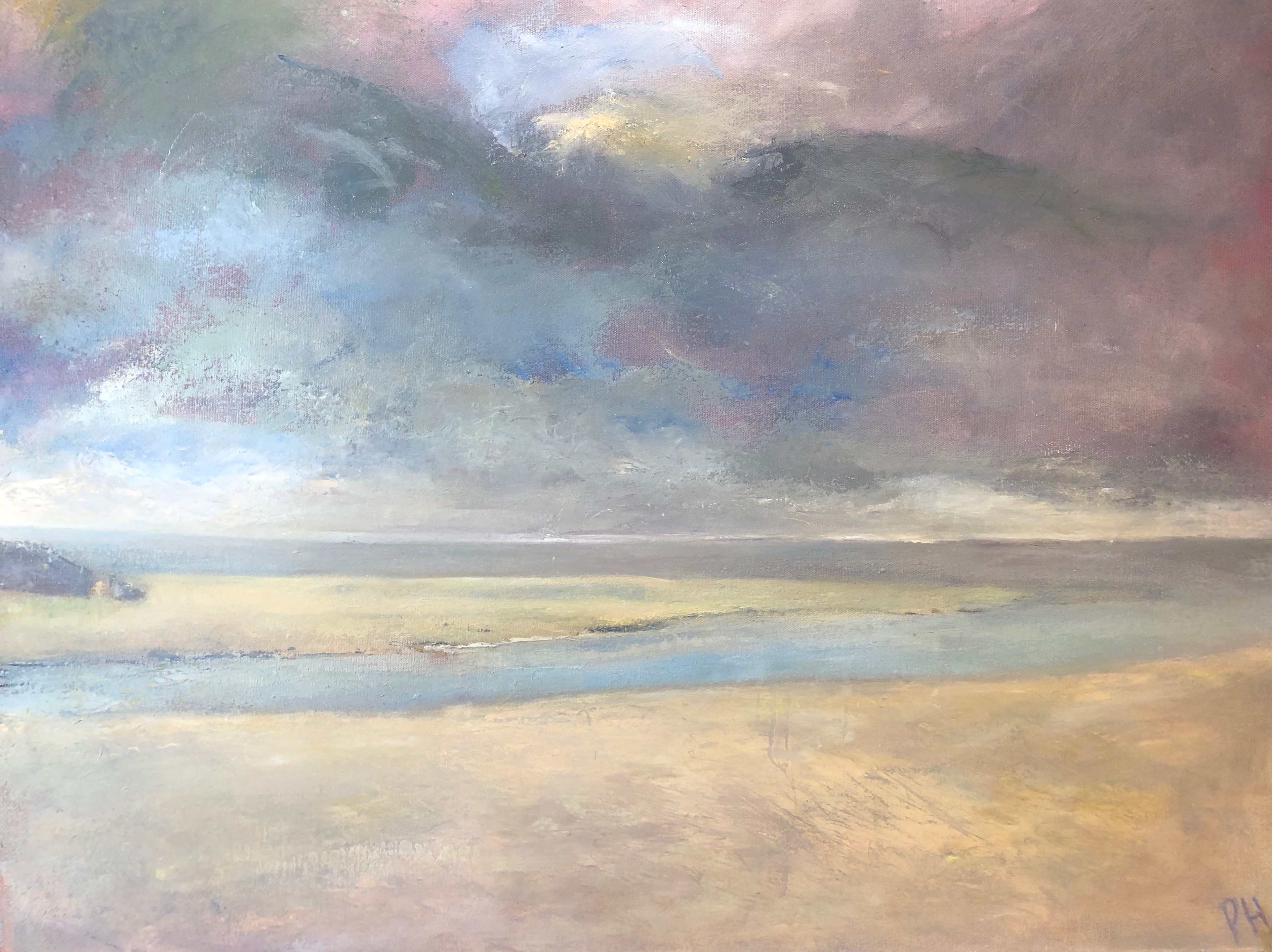 Peter Herbert . Sky and Sea No.1 . 2017 Oil on canvas . 24x30 inches