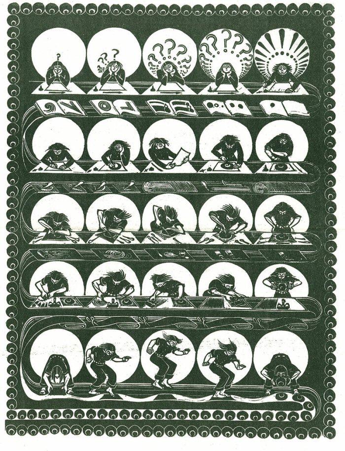 Virginia Lee aka jinnee Demetrios folly cove designers print evolution of a print