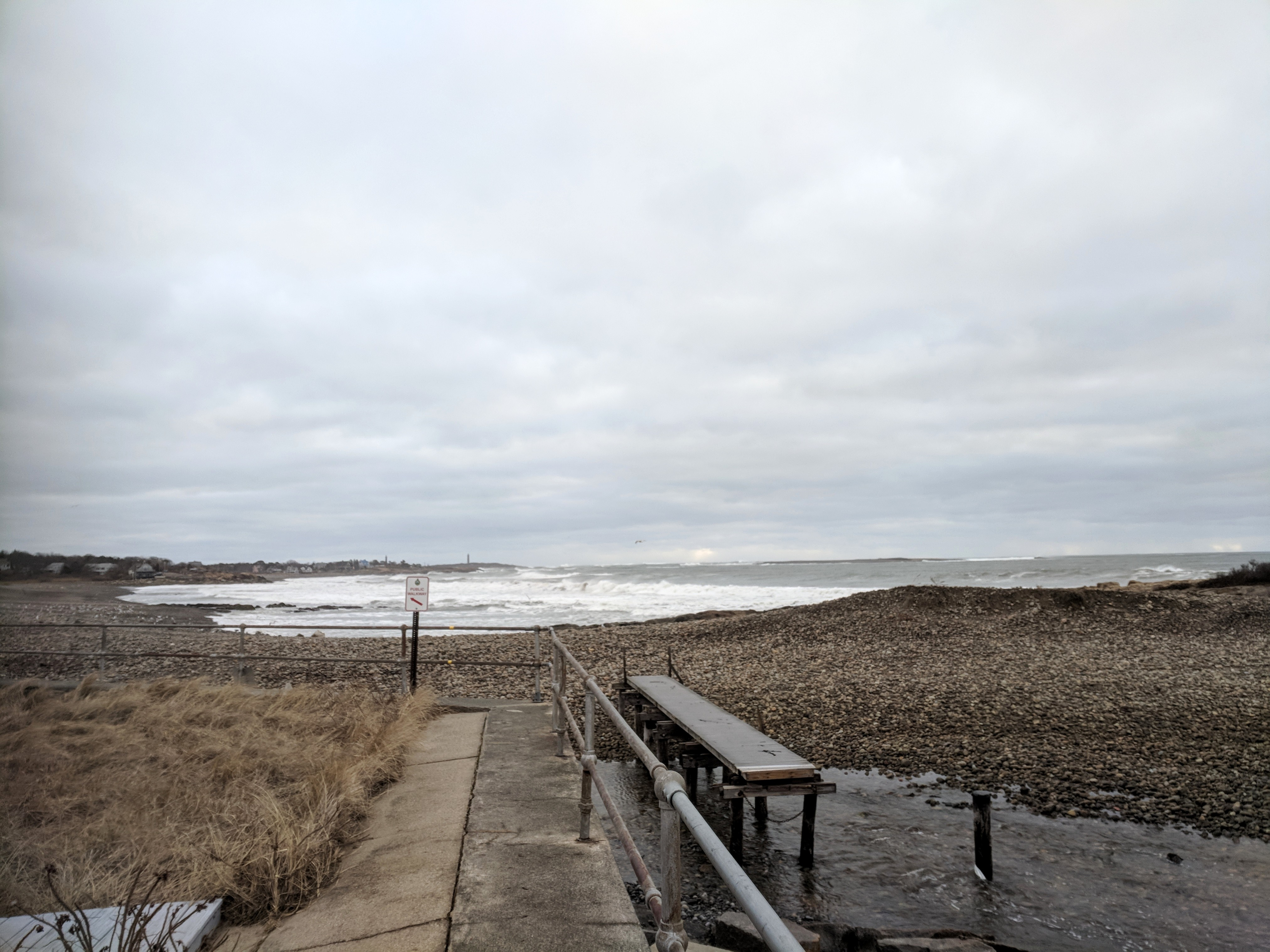 dramatic change sea wall cut down by half Winter Storm Riley March 4 2018 Gloucester MA Long Beach ©C Ryan _151948 (32)