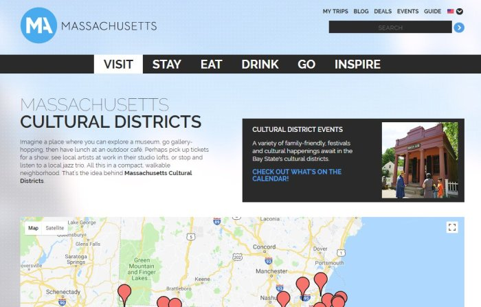 MCC new landing page on MOTT ma vacation