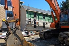 Briar Barn Inn construction detail -2 April 2018 copyright Kim Smith