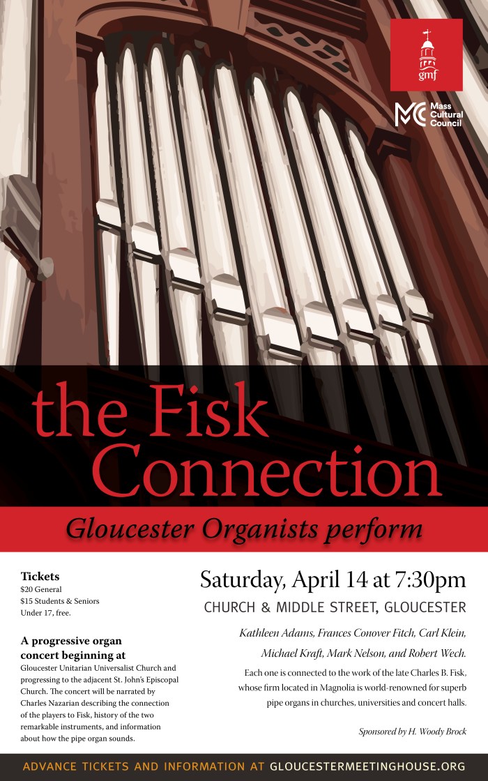 Fisk Connection Organ Concert Poster