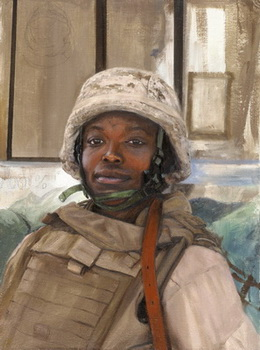 Michael Fay Woman Marine