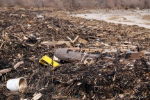 Sandy Point Beach Plum Island Massachusetts after storm barrier beach damage -2 copyright Kim Smith
