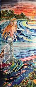 Christine_Gauthier-Kelley_Hanalei-Bay-Sunset-Paddle