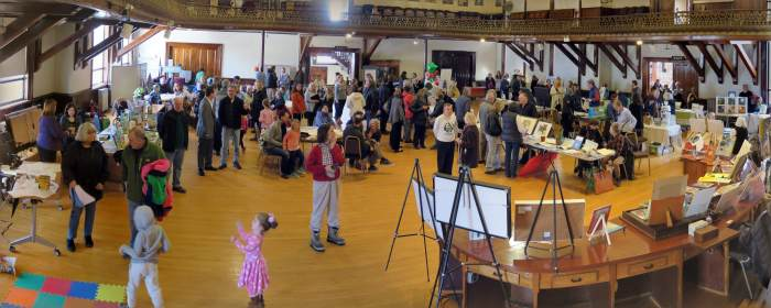 packed event Cape Ann Reads childrens picture book reception Jan 27 2018 City Hall Gloucester MA.jpg
