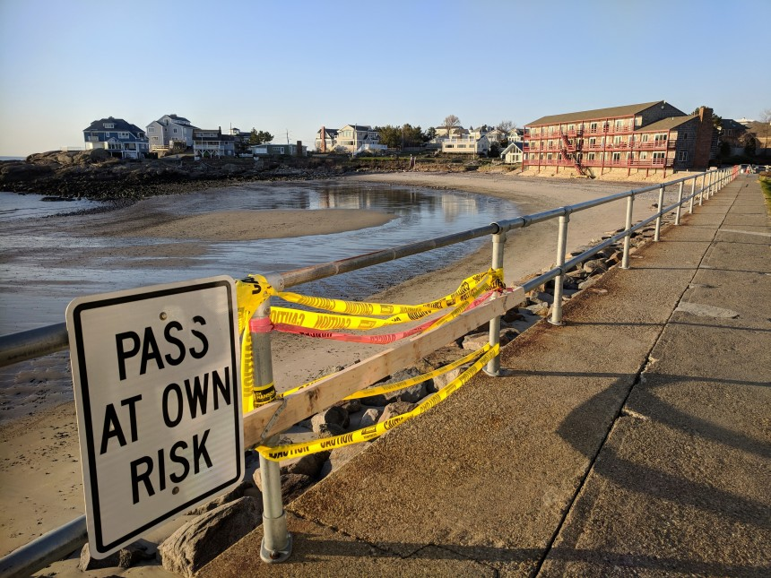 Pass at own risk Long Beach seawall after winter storms May 2 2018 ©c ryan.jpg