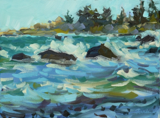 Rokaya Waring-Waves-at-Brace-Cove