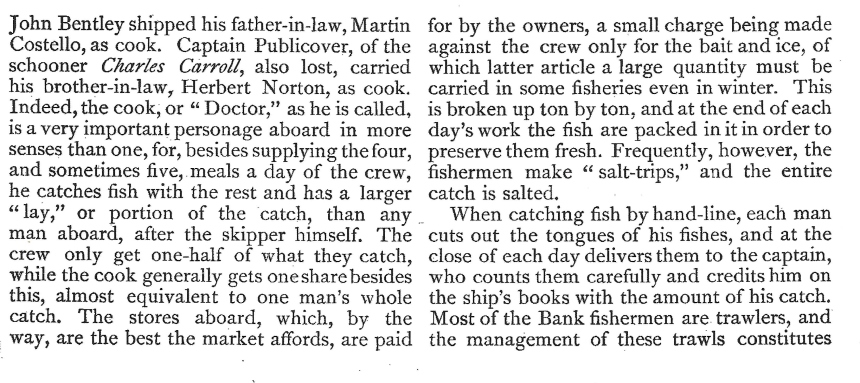 Gloucester Fishers Century Mag 1886 pg 820 - Copy