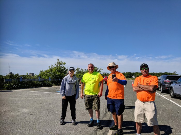 Gloucester MASS Good Harbor Beach lot attendants DPW staff wonderful_20180610_©c ryan