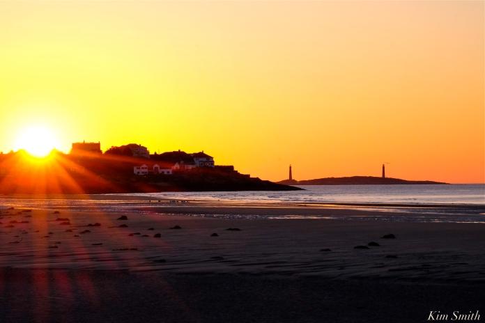 Good Harbor Beach Sunrise copyright Kim Smith
