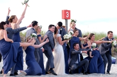 Good Harbor Beach wedding -3 copyright Kim Smith