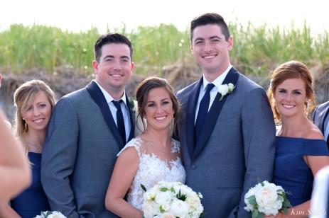 Good Harbor Beach wedding copyright Kim Smith