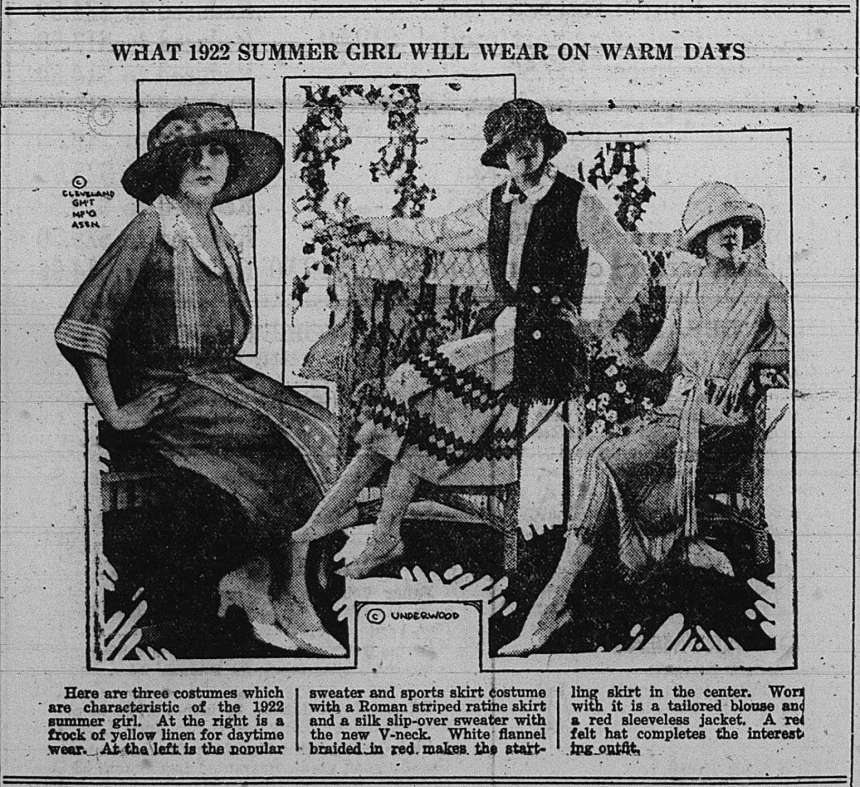 Summer 1922 GDT May 25 1922