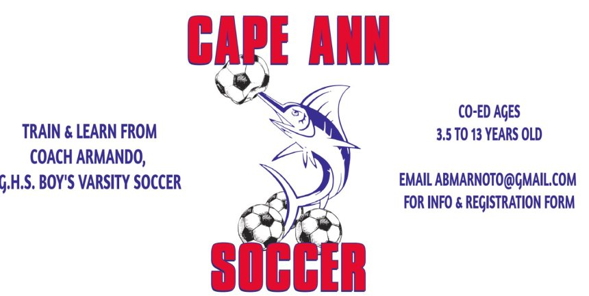 Cape Ann Soccer camp july 12
