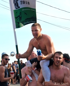 Greasy Pole Saturday Michael Sanfilippo 2018 Saint Peter's Fiesta -2 copyright Kim Smith