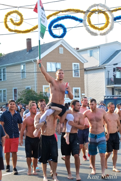Greasy Pole Saturday Michael Sanfilippo 2018 Saint Peter's Fiesta -3 copyright Kim Smith