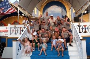 Iron Village Saint Peter's Fiesta Men's Seine Boat Champions 2018 -1 copyright Kim Smith