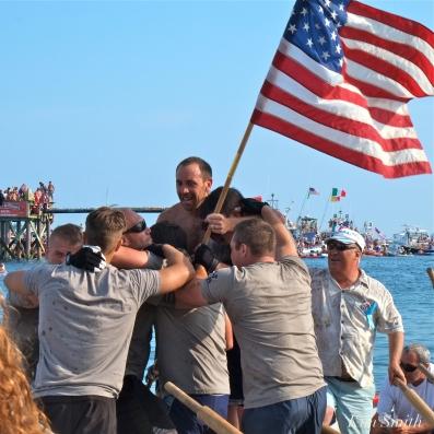 Iron Village Saint Peter's Fiesta Men's Seine Boat Champions 2018 -2 copyright Kim Smith